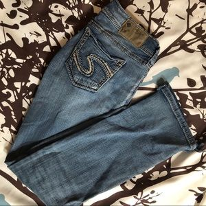 Silver Suki Baby Boot Jeans